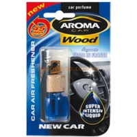 Ароматизатор в авто Aroma Car Wood - NEW CAR