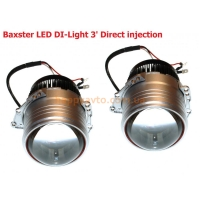 Линзы светодиодные Bi-Led Baxster DI-Light 3' Direct injection (комплект 2 шт)