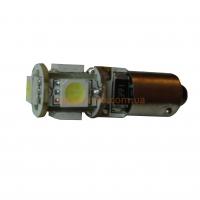 Светодиодная лампа BA9S-5(5050) CAN Белый