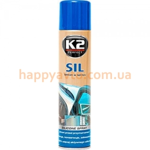 Смазка K2 SIL 300ml SPRAY K633