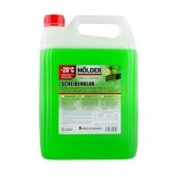 MOLDER Scheibenklar Screenwash With Frost Protection LIME 5L, -20*С