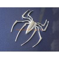 3D наклейка металлическая паук