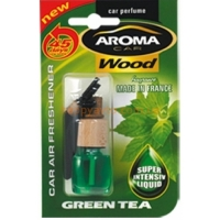 Ароматизатор в авто Aroma Car Wood - GREEN TEA