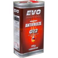 Антифриз ANTIFREEZE EVO G12 Concentrate (Red) - красный 5kg